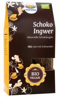 Bio Schoko-Ingwer-Kugeln, 120 g