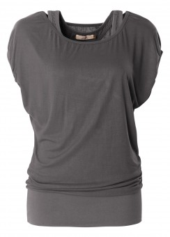 "Shirt ""Lucy"", charcoal S"