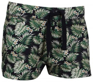 """Yoga Short """"Hawaii"""" - green M"""