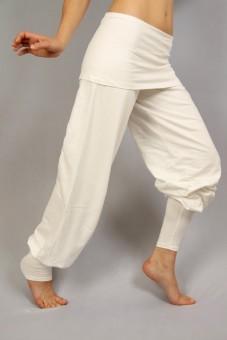 "Yogahose ""Sohang"" - weiß XL"