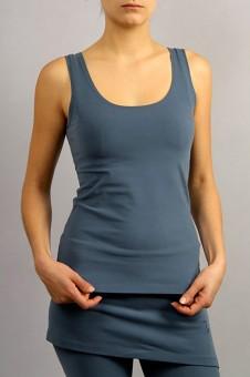 "Yoga-Top ""Sohang"" - indigo blau M"