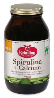 Bio Spirulina + Calcium (300 Tabletten), 120 g