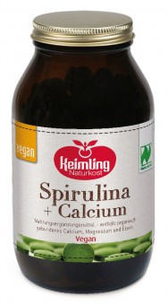 Bio Spirulina + Calcium (1500 Tabletten), 600 g