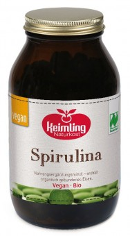 Bio Spirulina pur - Naturland 300 Tabl.