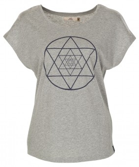 "T-Shirt ""Isis"" - grey melange"