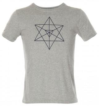"""T-Shirt """"Orin"""" - grey melange"""