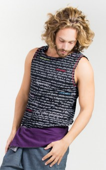 "Men's Tank-Top ""Mantra"" M/L"