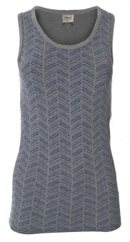 Tank-Top soft, melange printed L