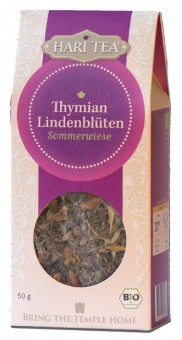 Bio Thymian & Lindenblüten lose Teemischung, 50 g