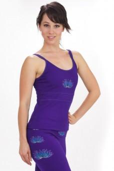 """Träger-Top """"Lotus"""", purple M"""