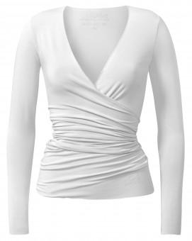 Wrap-Jacket - white