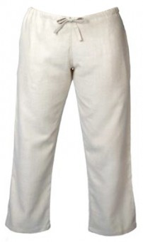 Damen Hose aus Natur-Seide