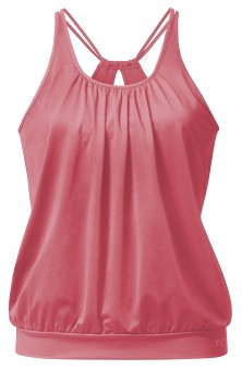 Yoga Curves Collection Spaghetti-Top - himbeere