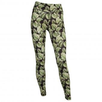 Yoga-Legging Hawaii - green