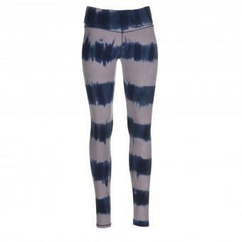 """Yoga-Batik-Leggings """"seashore"""" - grau/blau"""