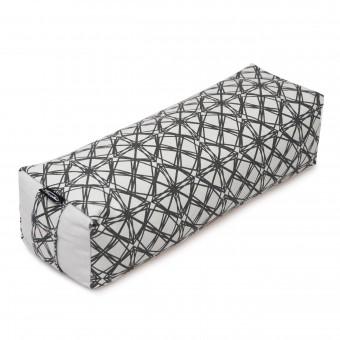Yoga-Bolster - smart - rectangular - vintage - organic cotton