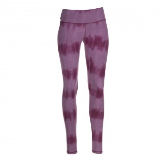 "Yoga-Batik-Leggings ""very berry"" - rose/flieder"