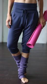 "Yoga-Pant ""Padmini"" Capri, indigo S"