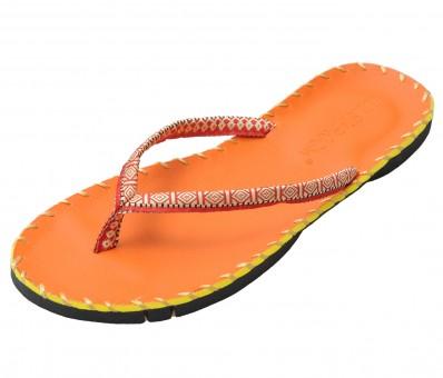 Yoga Sandale - orange 39