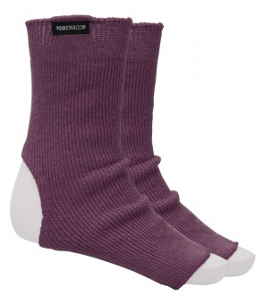 Yoga-Socken elderberry - Wolle