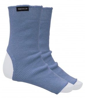 Yoga-Socken saphire blue - Baumwolle