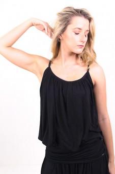 """Yoga-Top """"Comfort Flow"""" - black XS/S"""
