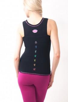 Satya Yoga Top-black