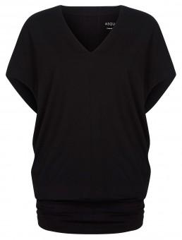"Yoga-T-Shirt ""Freedom"" - jet black"