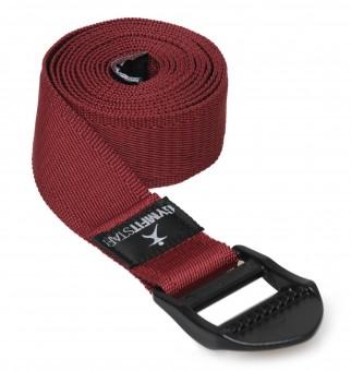 Yogagurt für Yoga, Pilates & Fitness - PB 210cm bordeaux