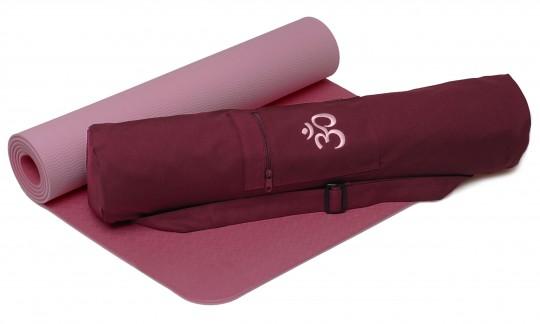 Yoga-Set Starter Edition - comfort (Yogamatte pro + Yogatasche OM)