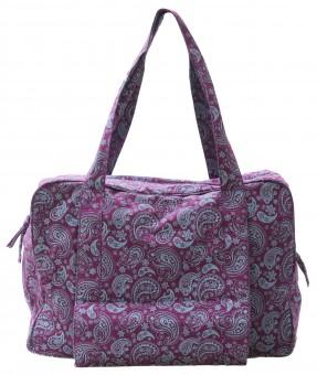 Yogatasche twin bag - take me two - paisley fusion violet