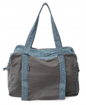 Yogatasche twin bag - take me two - taupe/turquoise