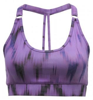 """Yoga-Bra """"Shiva"""" - Ikat purple L"""
