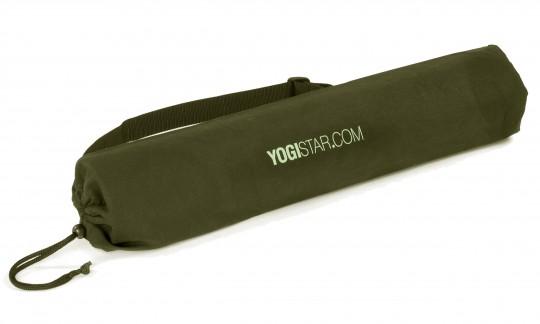 Yogatasche yogibag® basic - cotton - 65 cm olive