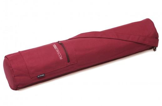Yogatasche yogibag® basic - zip - cotton - 65 cm bordeaux