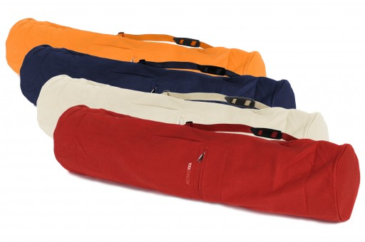 Yogatasche basic - zip - extra big - cotton - 109 cm