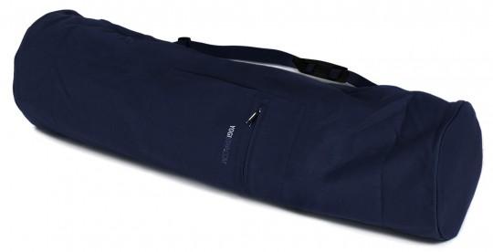 Yogatasche basic - zip - extra big - cotton - 80 cm navy