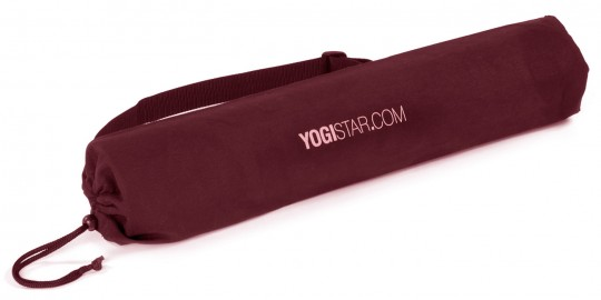 Funda yogibag basic - algodón bordeaux