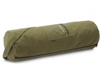 Yogatasche yogibag® basic - zip - cotton - big plus - 73 cm olive