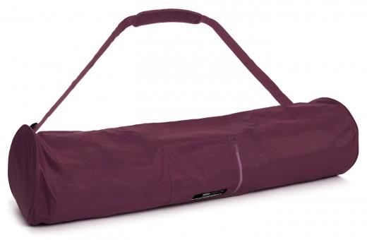 Yogatasche basic - zip - extra big - nylon - 109 cm bordeaux