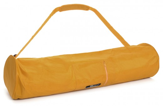 Yogatasche basic - zip - extra big - nylon - 109 cm safran