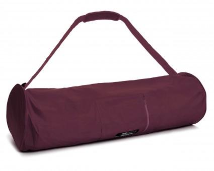 Yogatasche yogibag® basic - zip - extra big - nylon - 80 cm bordeaux