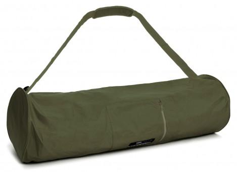 Yogatasche basic - zip - extra big - nylon - 80 cm olive