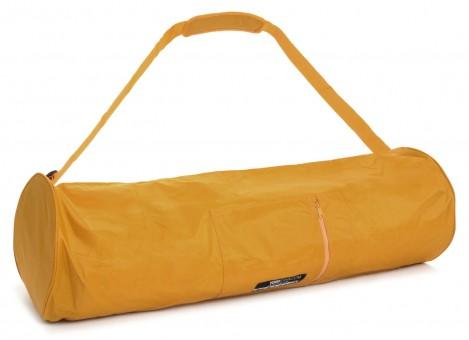 Yogatasche basic - zip - extra big - nylon - 80 cm safran