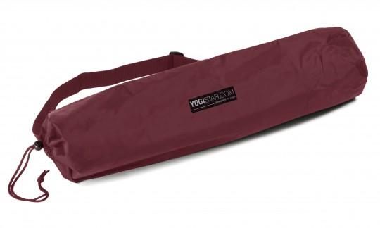 Yogatasche yogibag® basic - nylon - 65 cm bordeaux