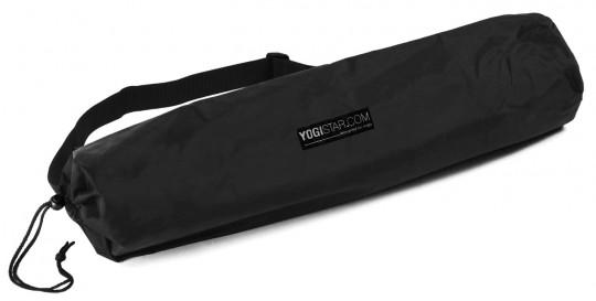 Yogatasche basic - nylon - 65 cm black, 70cm