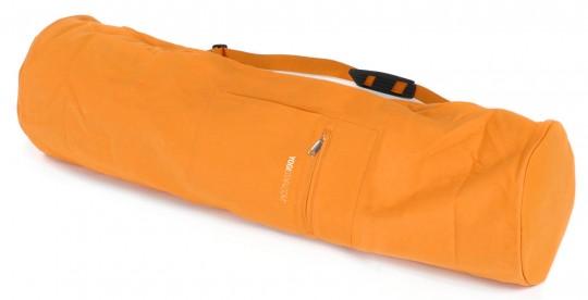 Yogatasche yogibag® basic - zip - extra big - cotton - 80 cm safran