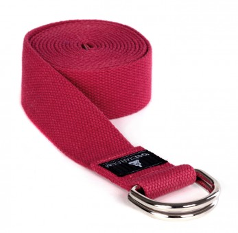 Yogagurt yogibelt - 260M power red MD-Ring 260cm