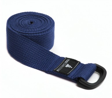 Yogagurt yogibelt - 260P blue PD-Ring