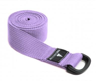 Yogagurt yogibelt - 260P lilac PD-Ring